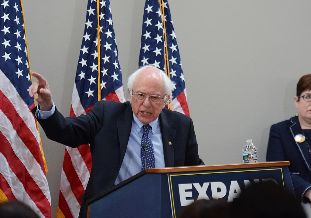 Bernie Sanders Slams Biden: I Was Against  Bad Trade Deals  Like NAFTA, TPP