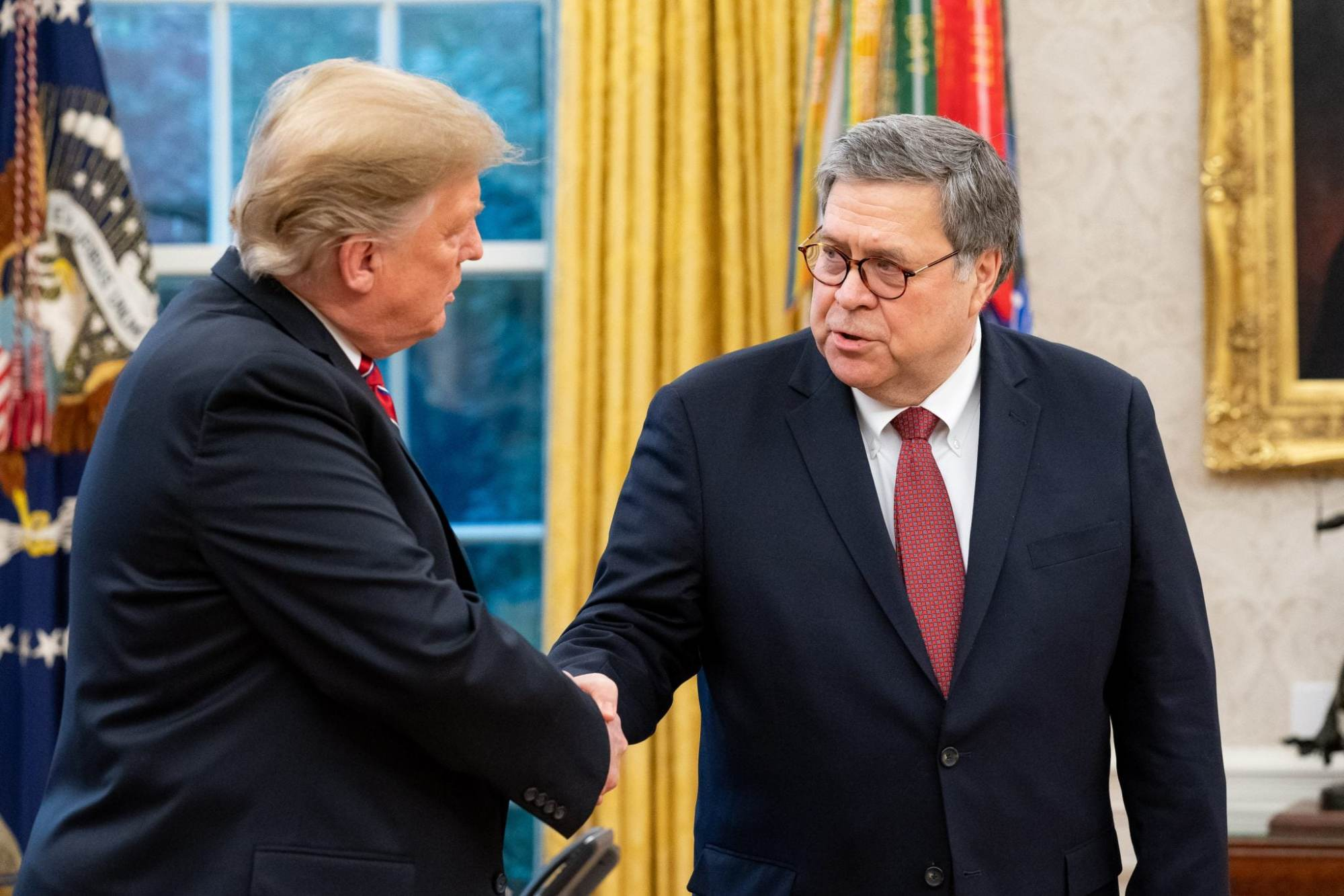For Spying Allegation, AG Barr Should Trade 'His Tortoise Shell Glasses for a Tinfoil Hat'
