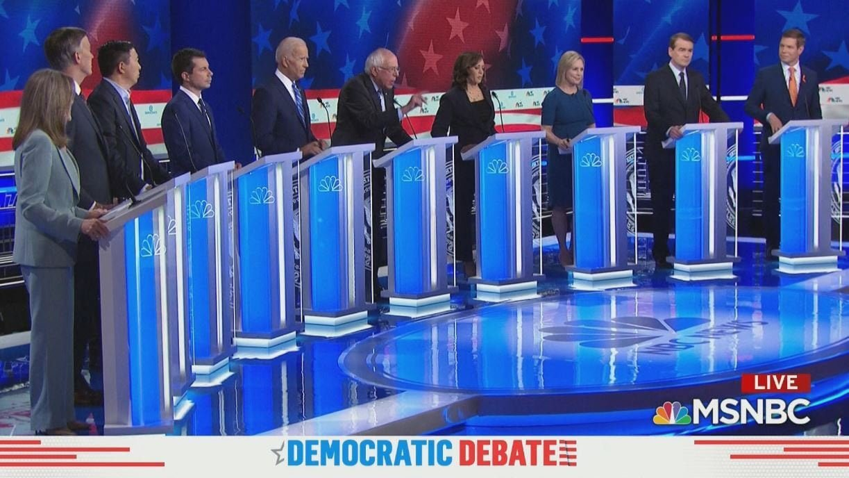 Democratic Debate: Thoughts and Grades From Night 2