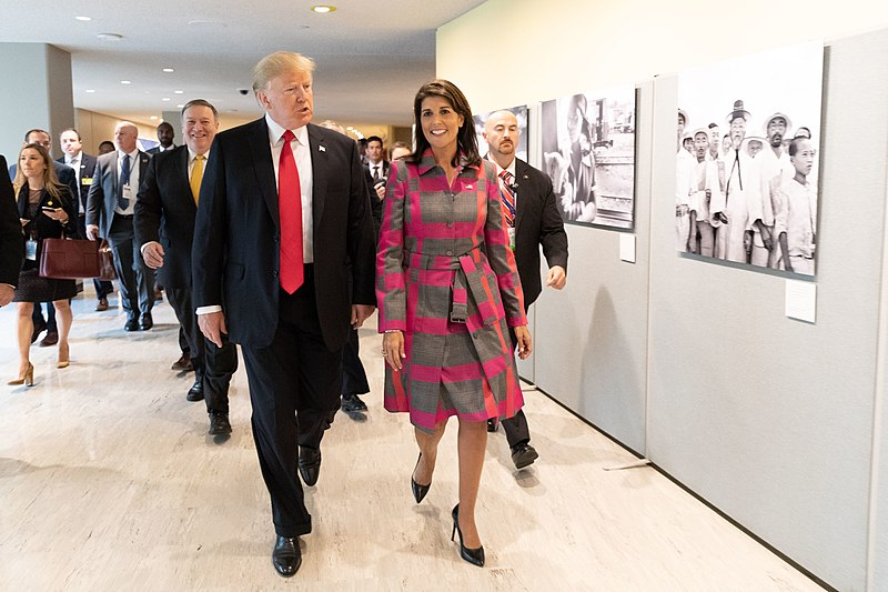 Rather Than Merely Running for President, Is Nikki Haley Auditioning To Be Trump's New No. 2?