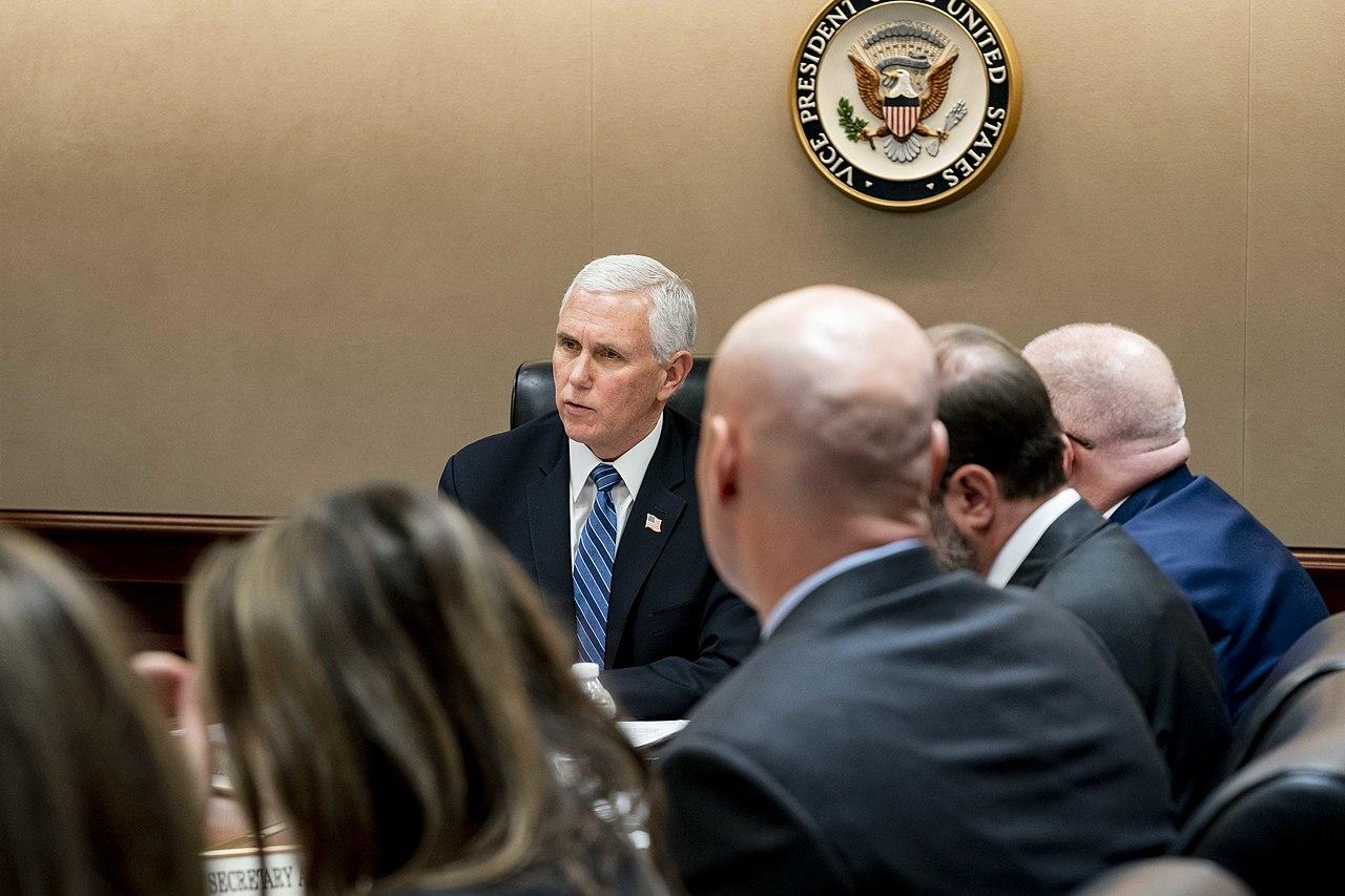 Pence Dodges Questions, Repeats Trump, Amid COVID-19 'Pandemic' Designation