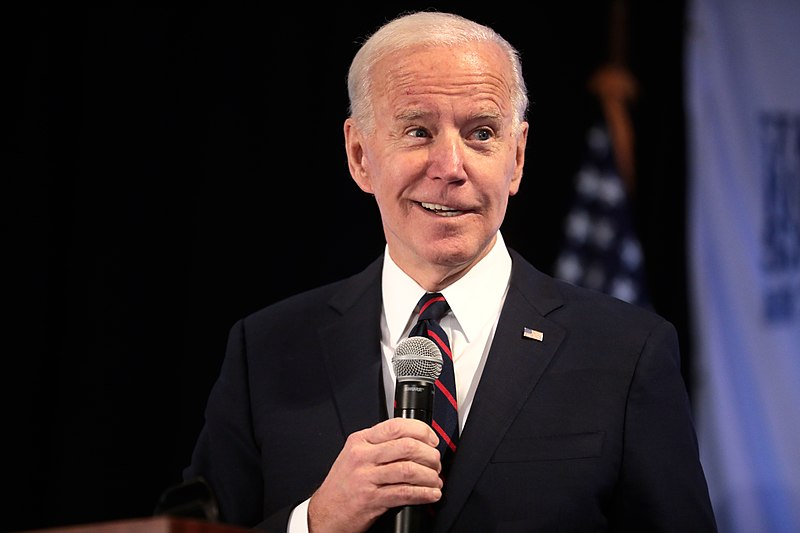Biden: I Will 'Pick a Woman To Be My Vice President'